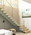 Escalier contemporain Brooklyn Plasse